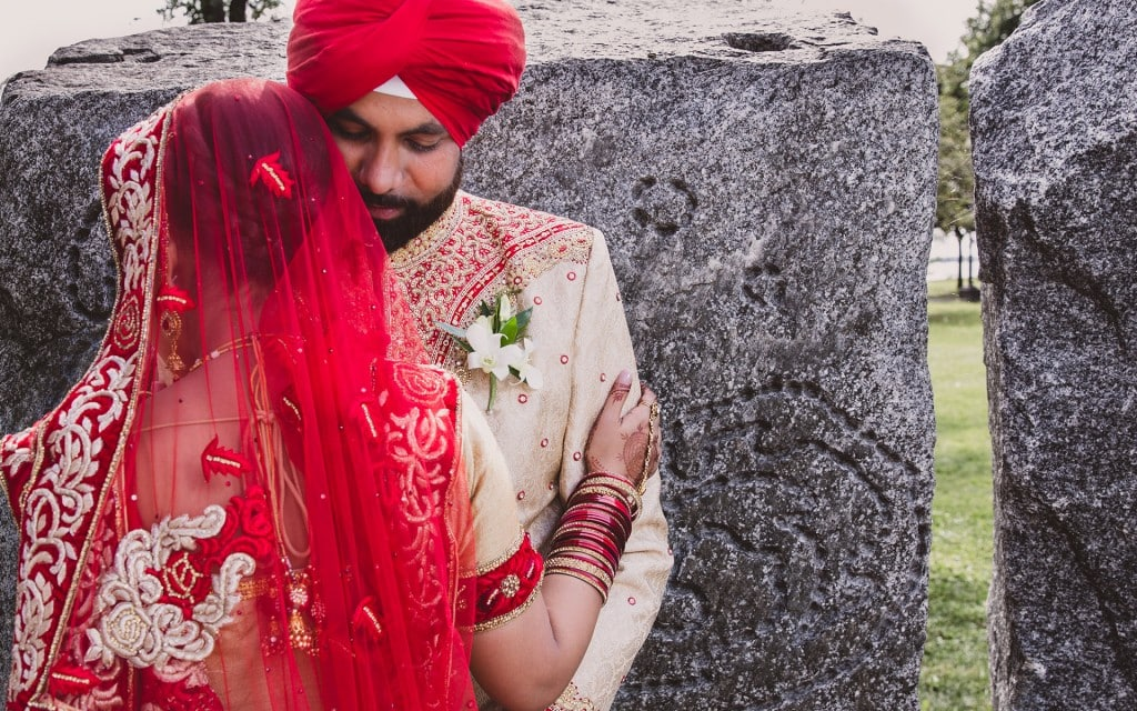 sikh-wedding-red