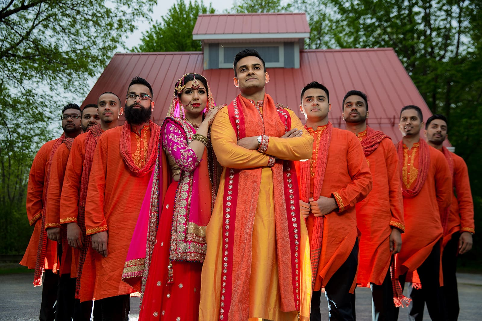 This bangla couple kept tradition alive in their haldi and sangeet ceremonies 35