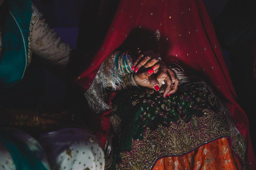 Mother of the Bride in the Nikkah