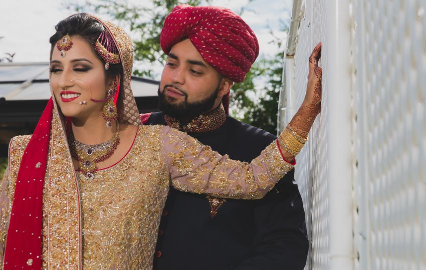Pakistani newlyweds