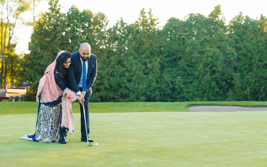 Reception at the golf club