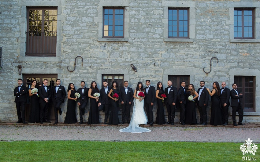 Old Port Montreal Wedding Party