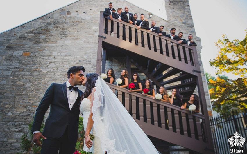Wedding Photo shoot Old Port Montreal
