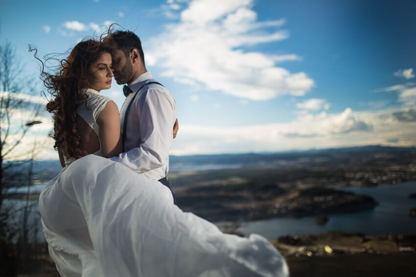 Norway bridal session photo 6