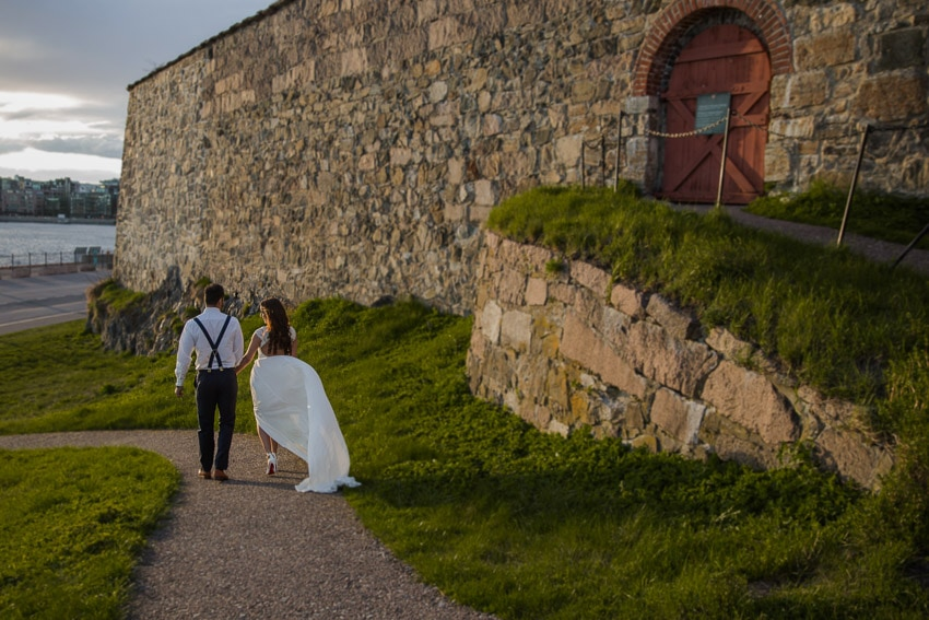 Destination wedding photographer - Bridal session in norway
