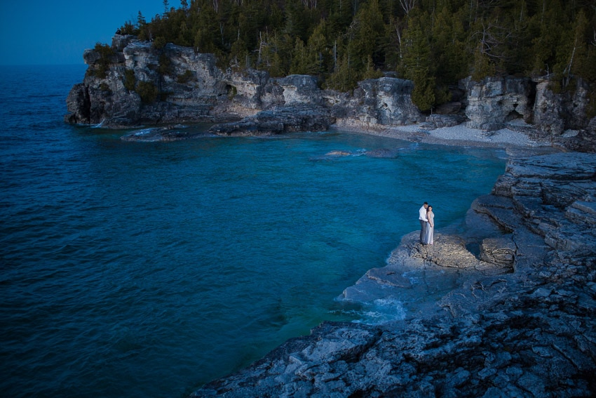 Destination wedding photographer - Tobermory shoot