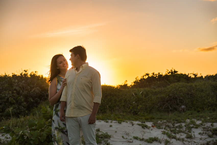 International love story engagement shoot cancun