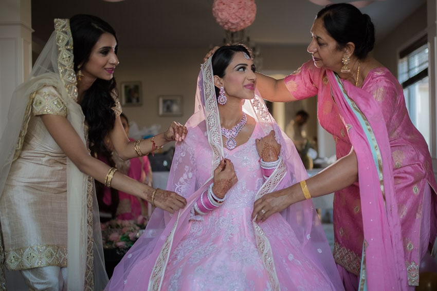 Mother-Daughter-Sikh-Wedding