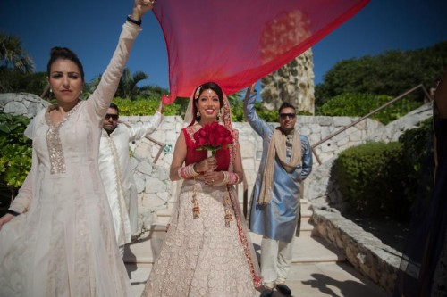 Wedding |Mexico Indian Beach Wedding | Hard Rock Hotels
