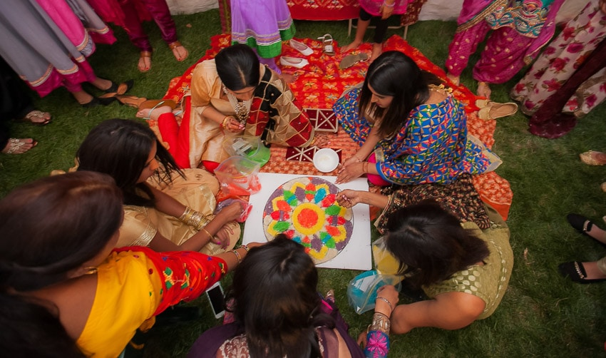 rangooli-Indian-Wedding-Toronto