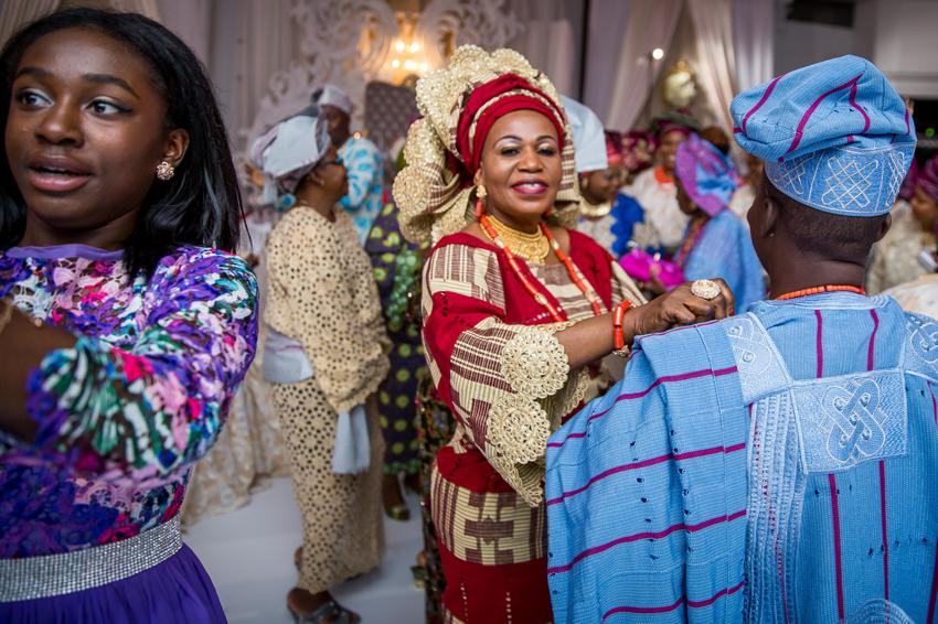 Nigerian Weddings happiness