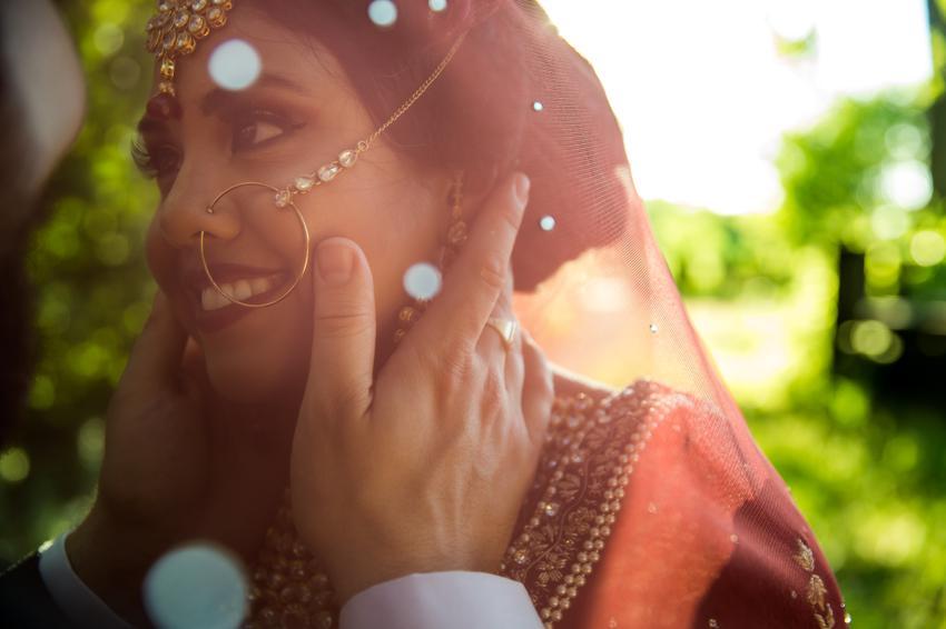 Bride-Indian-attire-toronto-wedding-ceremony