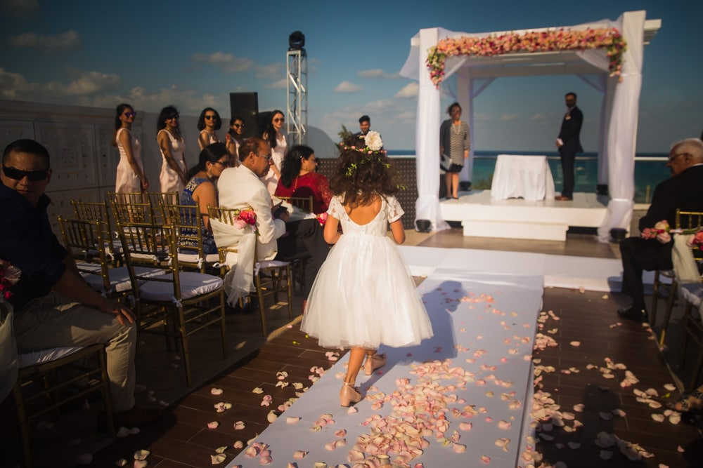 Azul Fives Indian Weddings Cancun 2051