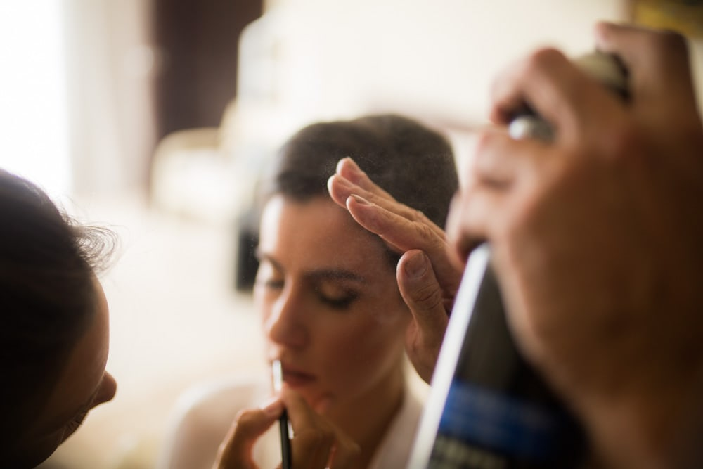 getting-ready-Oasis Tulum Canadian Wedding