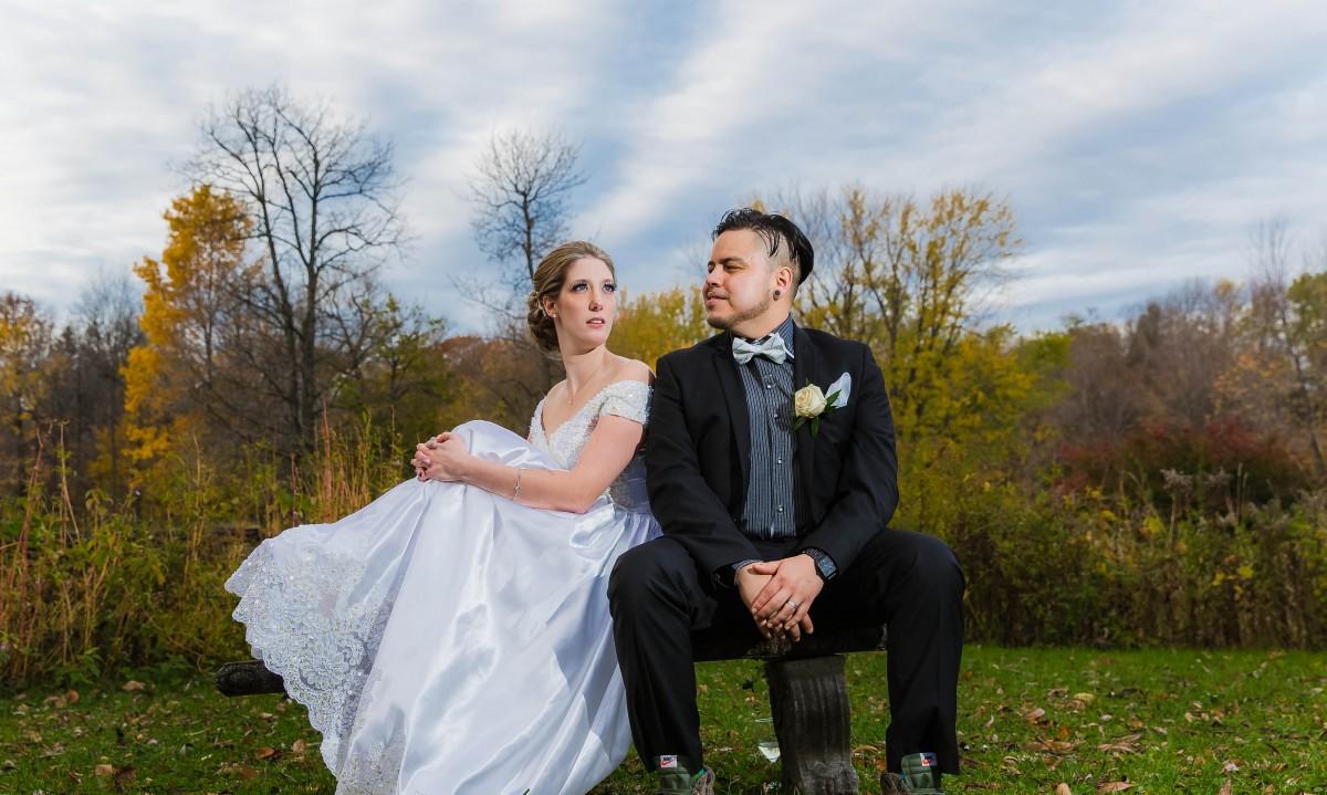 Quebec Irish-French Outdoor Wedding