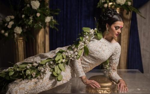 Moon Goddess – Luxurious Bride from Kismet Magazine