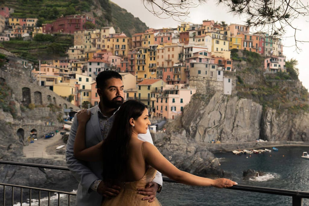 Engagement shoot in Cinque Terre Italy