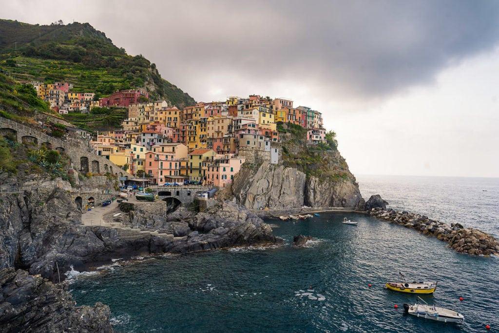 Manorala, Cinque Terre views