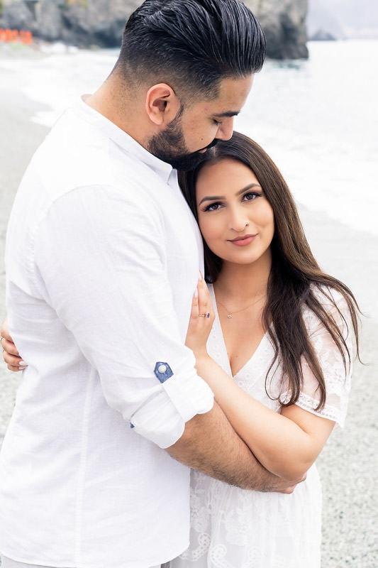 Couple photoshoot at Monterosso Al Mare, Cinque Terre.