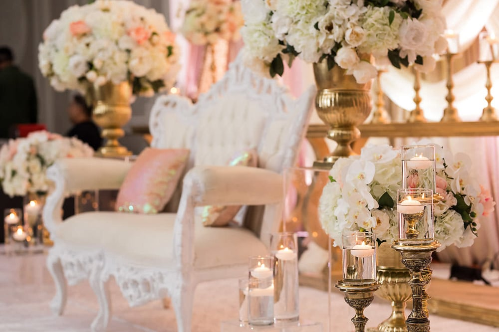 Punjabi Wedding Reception Decor