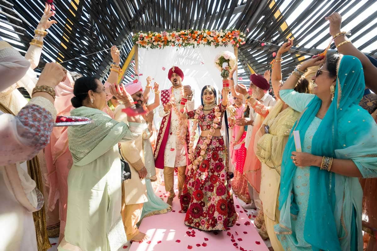 Indian Sikh Wedding Cancun Royalton