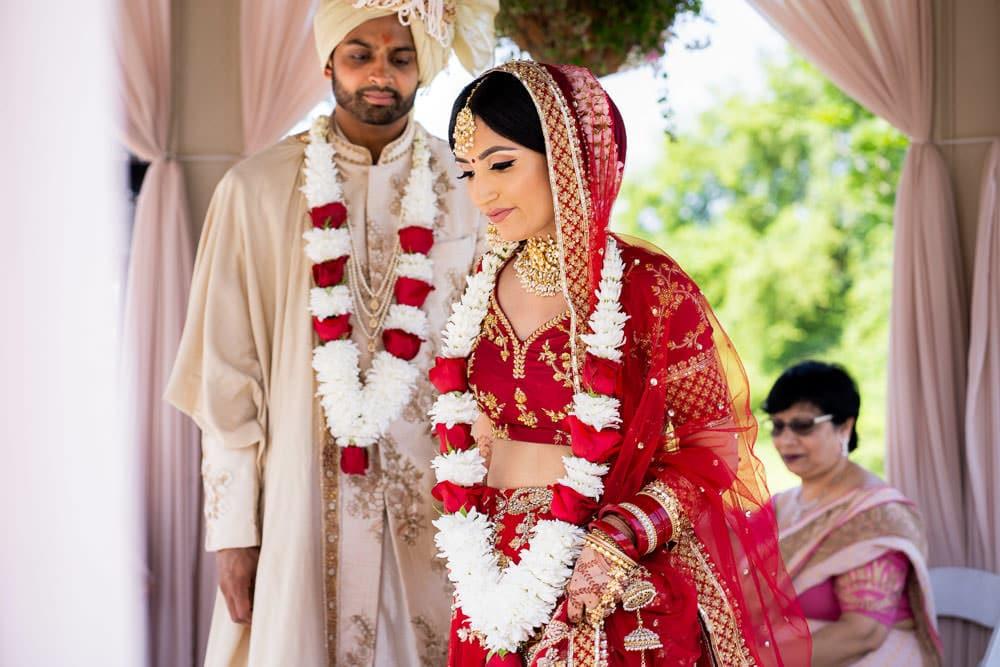 Floral Indian outdoor wedding at the Royal Ambassador