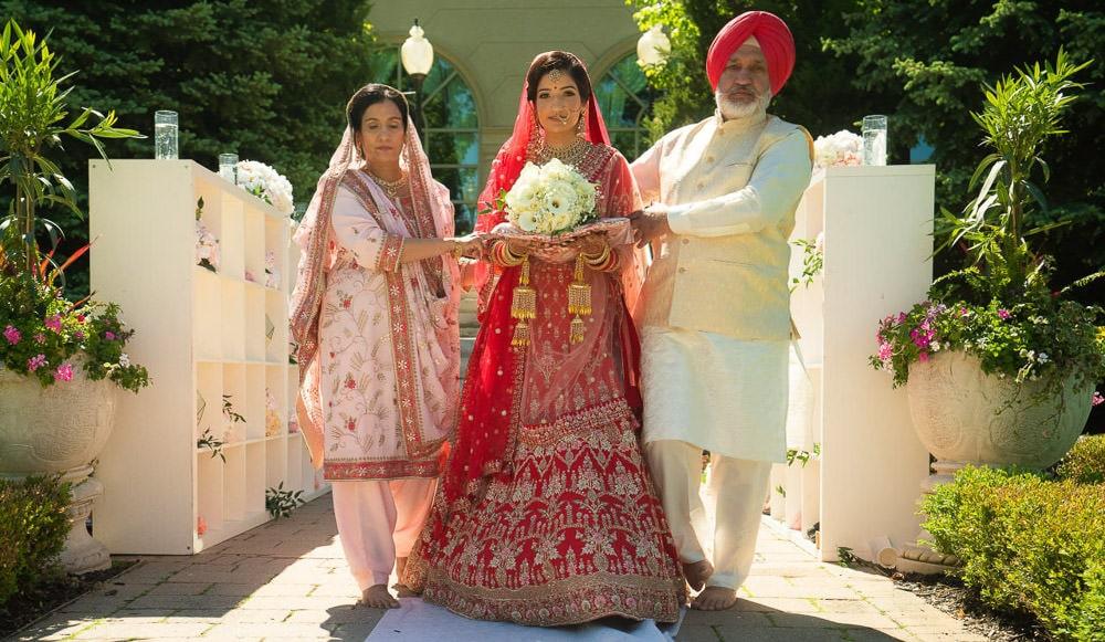 outdoor Indian wedding ceremony Toronto