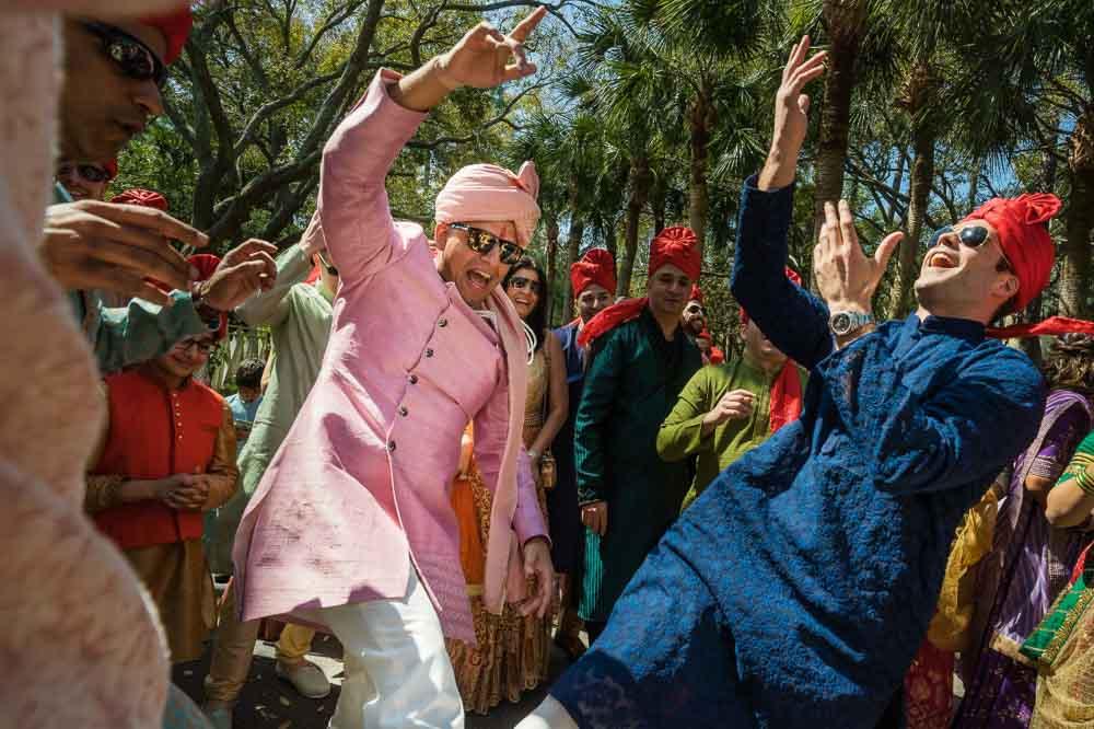 Baraat at Hilton Head Gujarati Wedding